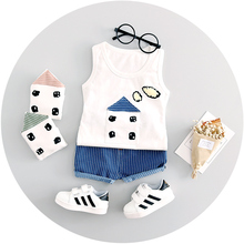 Baby Boy Girls Summer High quality cotton 2pc Set