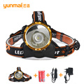 Hot Rechargeable Headlight 2000Lumens Head Lamp LED Head Flashlight Lantern lamp camp hike emergency light fishing outdoor equip