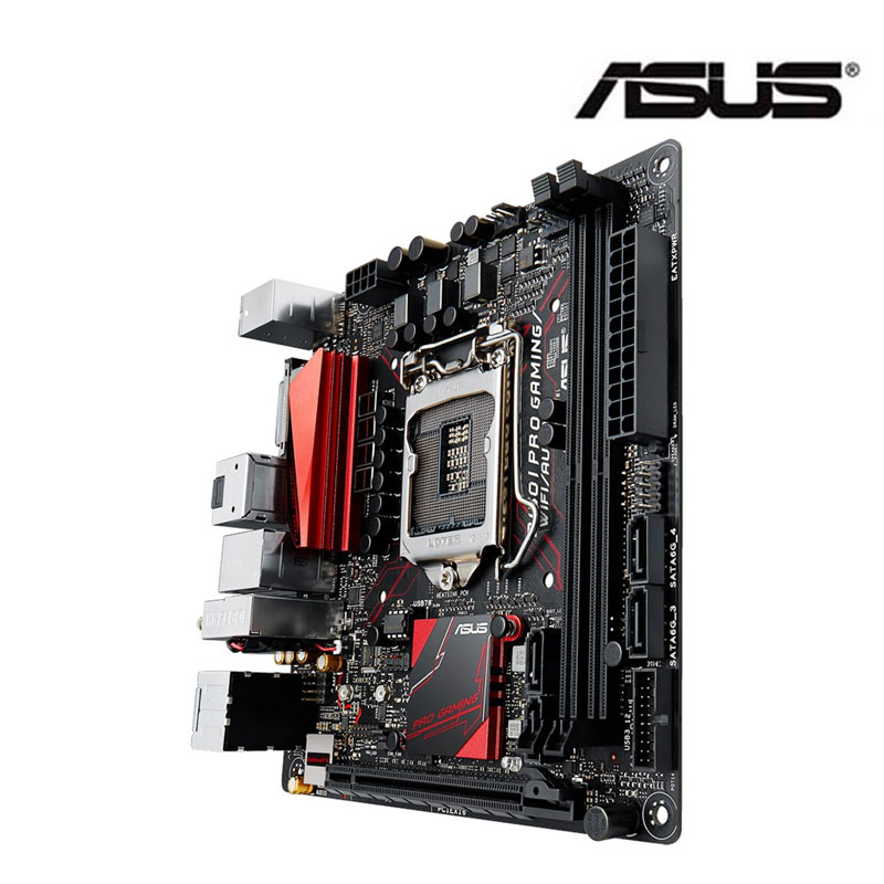Asus B150I PRO GAMING / WIFI / AURA 1151 motherboard supports wifi Bluetooth