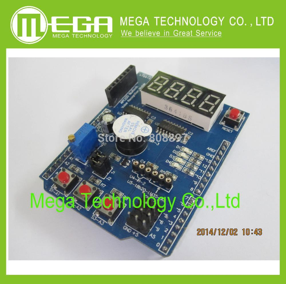 Multifunctional expansion board kit based learning for UNO r3 LENARDO mega 2560