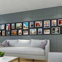 Bilderrahmen Holz Bilderrahmen 22 Teile/los Kreative Bilderrahmen Für Wand Collage Rahmen Zusammensetzung Fotowand Für Unternehmen