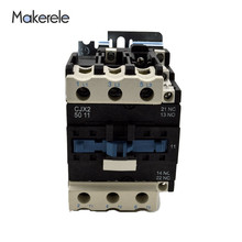 цены на CJX2-5011 50A 3 Phase 3-Pole LC1 380V 220V 110V 36V 24V 3P+1NO+1NC 50/60Hz Household Ac Contactor Open  в интернет-магазинах