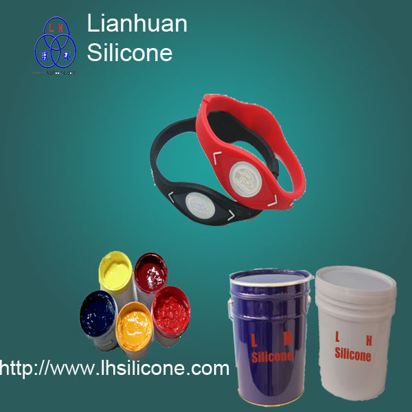 Screen Printing Ink For Rubber Bracelet Wrist Band And