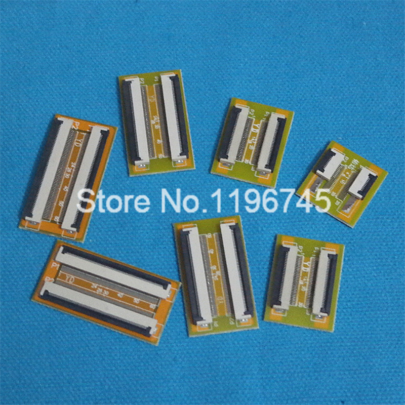10pcs Pitch 0.5mm FFC Cable Extension <font><b>Connector</b></font> Adapter 6pin 8pin 10pin 12pin 20pin 24pin 30pin 40pin 50Pin <font><b>60Pin</b></font> image