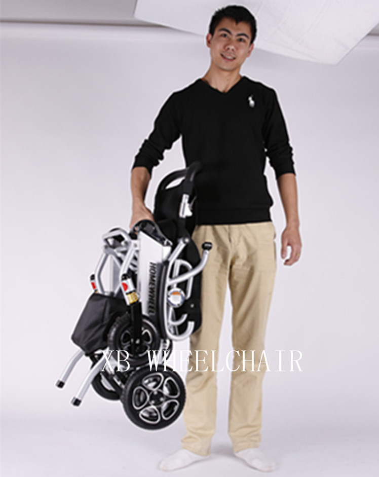 Free shipping Lightweight good quality disabled travel electric power wheelchair with competitive price