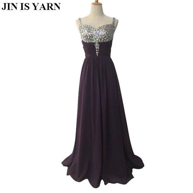 Free Shipping feifan lisa coral peach purple champagne Spaghetti Straps  elegant formal dresses evening gowns 2017 new fashion 28c54f4713fd
