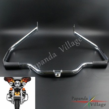 Crash-Bar-Protector Engine-Guard-1 Motorcycle Chrome for Harley-Models Equipped
