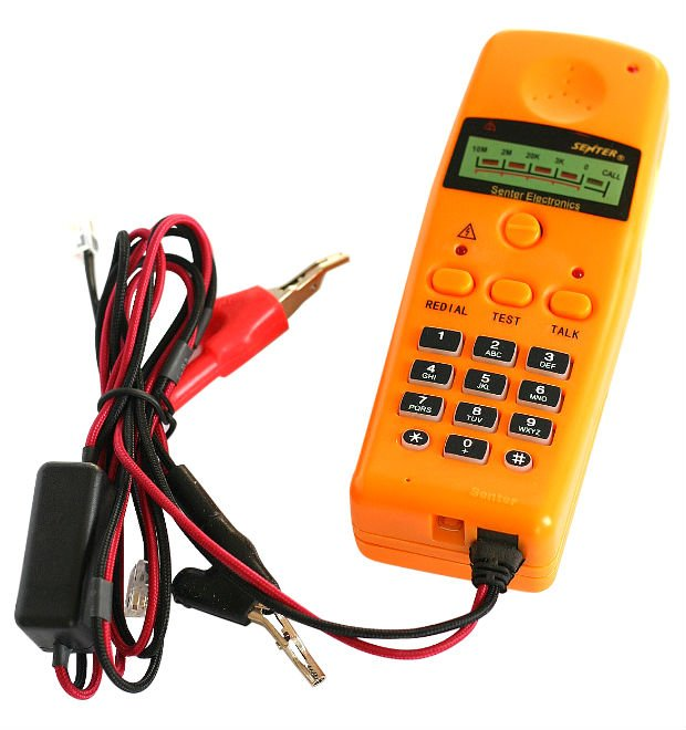 Mini Digital Telephone line tester Lineman tester ST220B