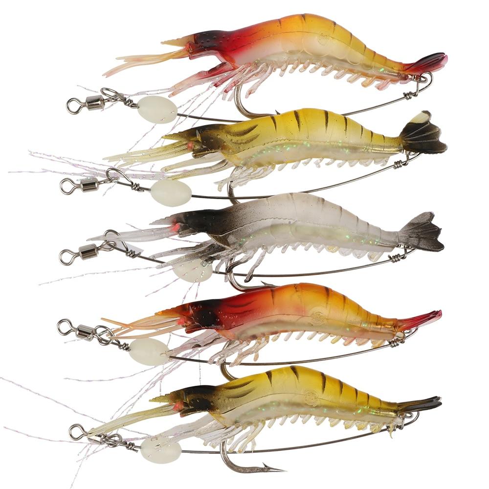 Aliexpress.com : Buy Goture 5pcs/lot luminous shrimp lure ...