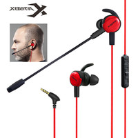 Xiberia MG 1 In Ear Gaming Headphones Stereo Earphones For PC Phone PS4 Xbox One Mac