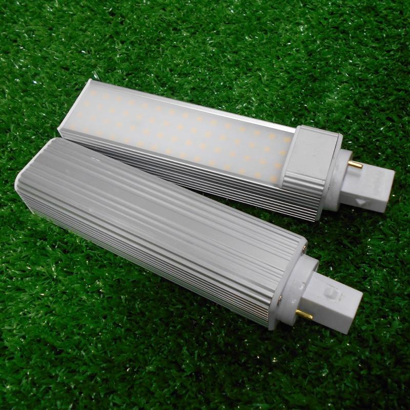 G24 led birne PL LED 5W 7W 9W 10W 11W 13W 2 pin led g24 lampe lamparas LED Bombillas licht 2 stücke/lotlampenstar