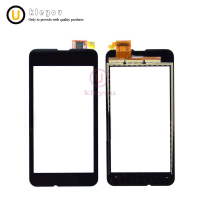 10pcs 4.0'' N530 Touch Screen for Nokia Lumia 530 N530 Touch Digitizer Sensor Front Glass Panel Lens Black Mobile Phone Parts