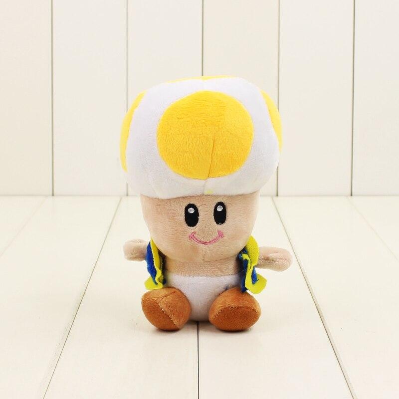 16 см 4 вида цветов Супер Марио гриб Плюшевые педант мультфильм игрушки куклы закрыть или открыть рот Симпатичные мягкие кукла для дети