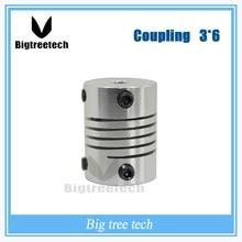3 шт. для 3d принтер части 3 мм * 6 мм D 18 L 25 ЧПУ Двигателя Щековая Соединительная Муфта Гибкий Муфта Шагового Кодирование Разъема Двигателя 3D0064