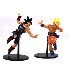 6 Style Dragon Ball Z Action Figures Son Goku Bardock PVC Model Fighting Tenkaichi Budokai Anime Figure Kids Toys Best Gifts цена