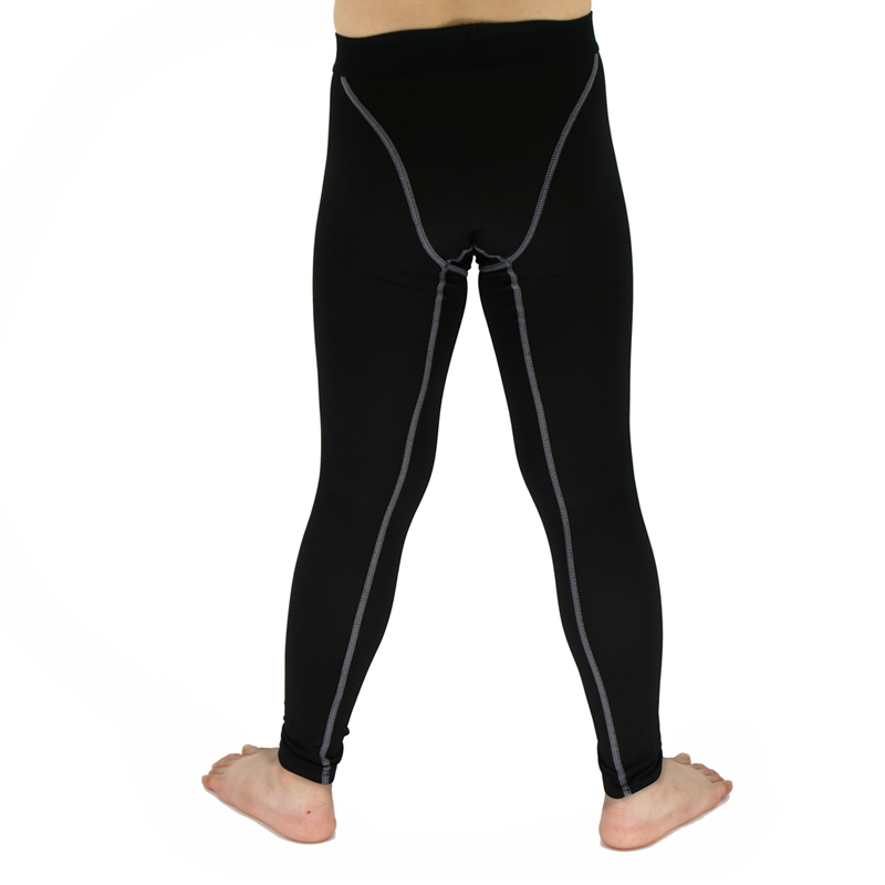 Baby Kids Boys Girls Skin Tight Compression Base Layer Running Pants Trousers US