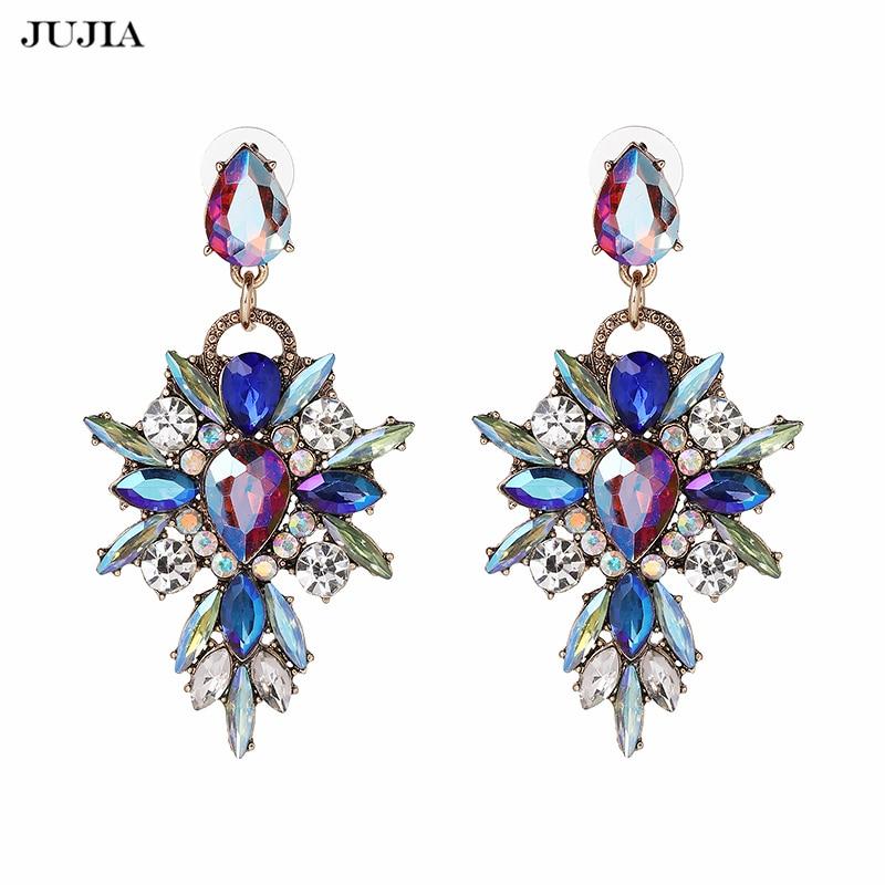 Hete kleurrijke bloem Big Brand Design luxe Rhinestone Starburst - Mode-sieraden - Foto 3