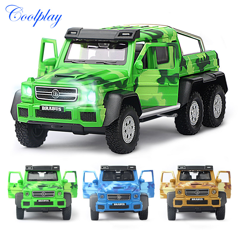 1:32 Scales Diecast Toy Vehicles High Simulation For Benz G63 AMG Car Model Off-Road Alloy SUV Model Car Toys For Kids )