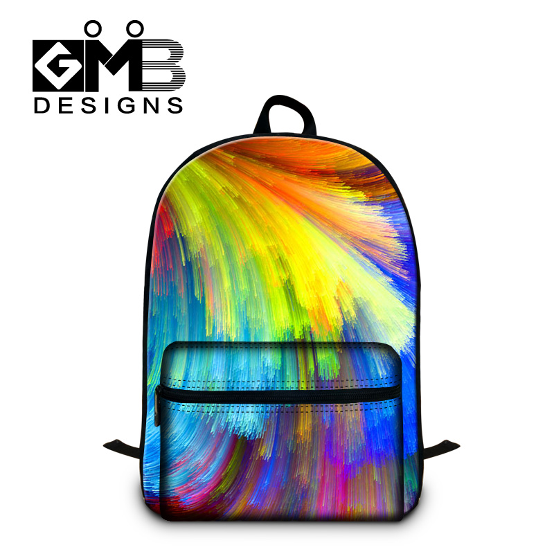 Colorful School Bags for Girls Fashion Bookbags with Laptop Sleeve ...