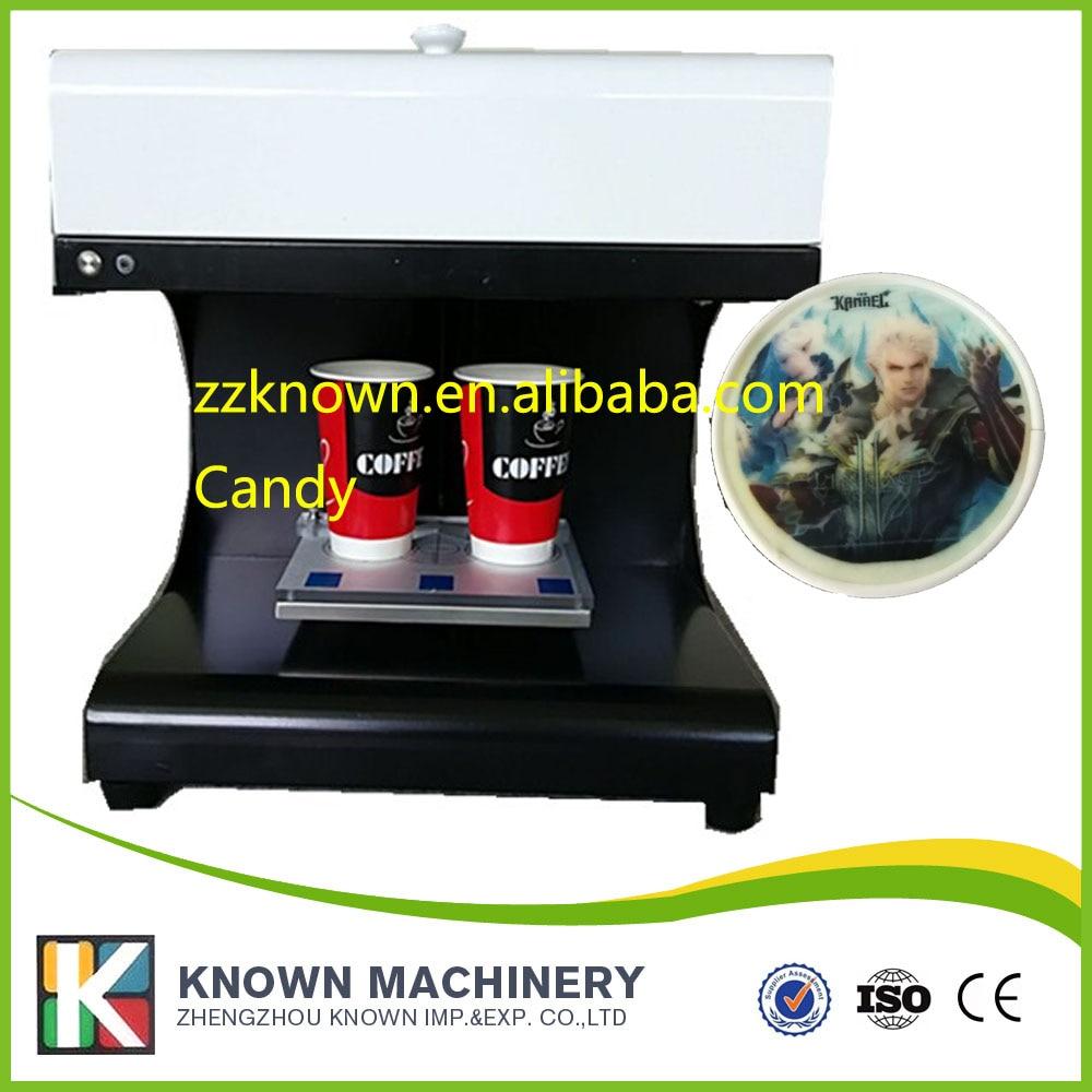 Dessert /Coffee Printer Digital Printing Machine latte printer for 1-2 cups coffee 110V&220V