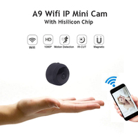 A9 Mini Camera Full HD 1080P IR Night Vision DVR Wireless IP P2P Wifi Micro Camera Motion Sensor Small Wifi Cam Video Recorder