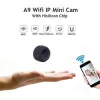 A9 Mini Camera Full HD 1080P IR Night Vision DVR Wireless IP P2P Wifi Micro Camera Motion Sensor Small Wifi Cam Video Recorder