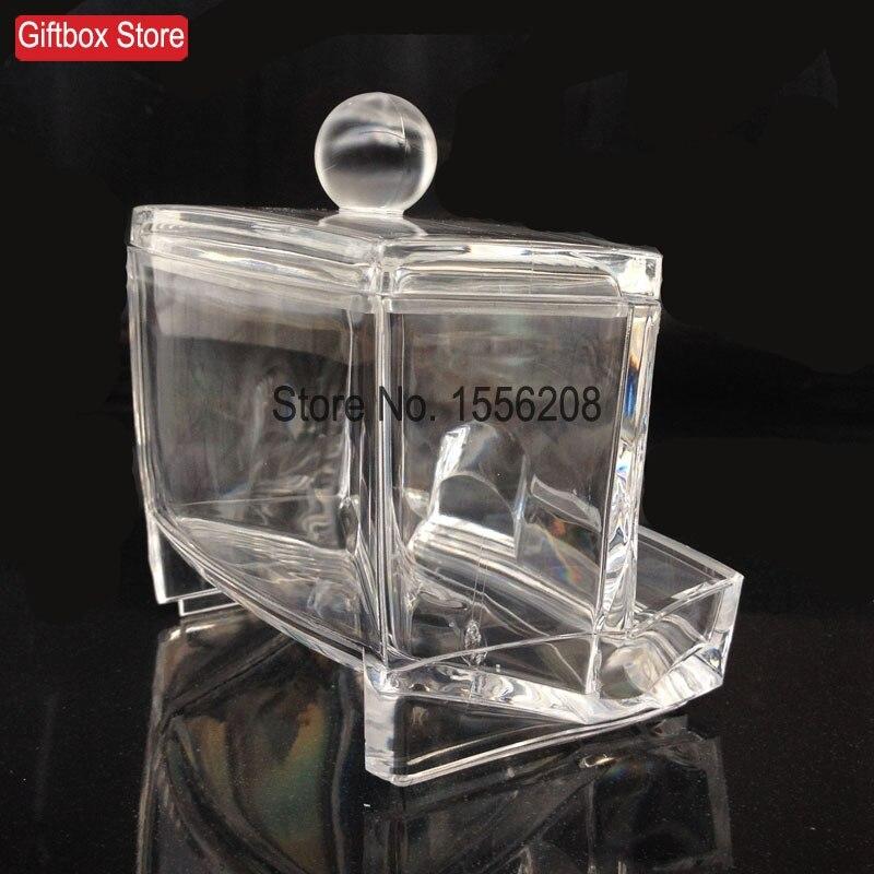 Cartuș de depozitare din plastic transparent Cutie de tampon din - Organizarea și depozitarea în casă - Fotografie 3