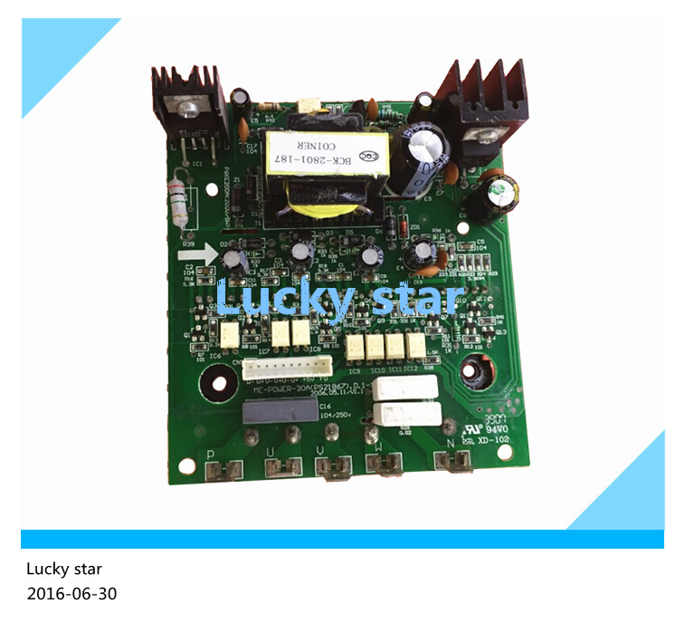 ФОТО 95% new used for Air conditioning computer board circuit board ME-POWER-30A(PS21867) good working