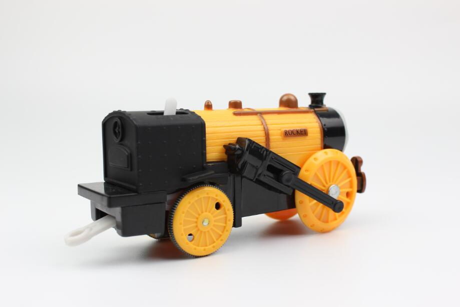 ROCKET Electric Trains Motorized Train Set Compatible with Brio Train Track  Railway Engine Locomotive Gift for Children