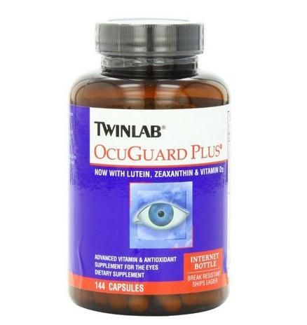 Frete grátis Twinlab Ocuguard Plus agora hith luteína, zeaxantina & vitamina D 3 144 cápsulas