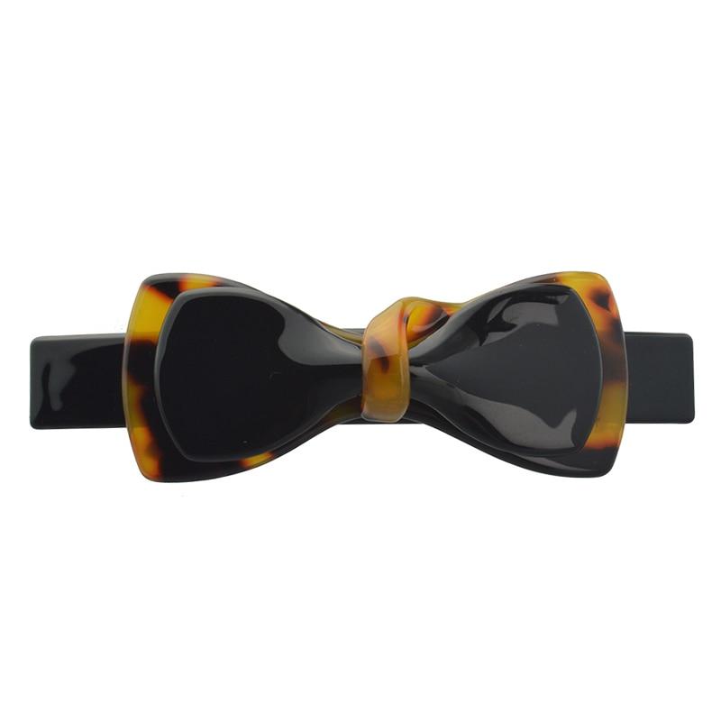 Dámské vlasové doplňky Lovely Leopard Bow Clip Clip Boutique Retro Barrettes Gift for Girls