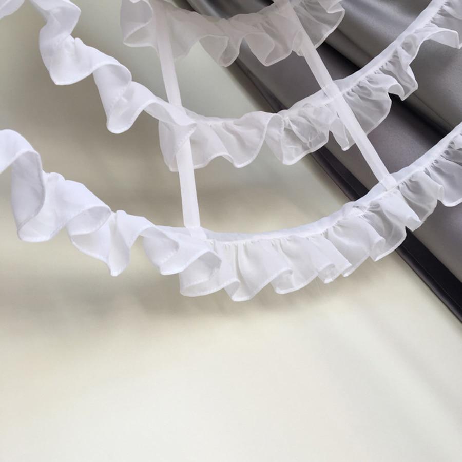 Vrouwen Korte Petticoat Rockabilly Taille Aanpassen 3 Lagen Hoepel - Bruiloft accessoires - Foto 6