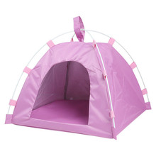 Pet Tent Portable Foldable Cute Dots Waterproof outdoor puppy house Teddy Bomei dog cat Puppy Kennel Durable Tents L273