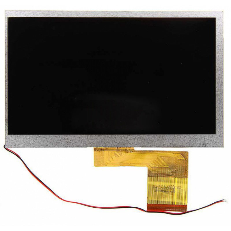 New 7 inch LCD Display For Alldaymall A88X Tablet PC Free Shipping original 7 inch 163 97mm hd 1024 600 lcd for cube u25gt tablet pc lcd screen display panel glass free shipping