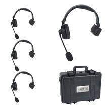 CAME-TV WAERO дуплексная Цифровая беспроводная Складная гарнитура с жестким корпусом 4 шт