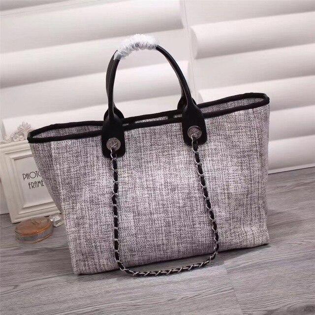 Livraison gratuite femmes sac de luxe marque designer sac à main sac fourre-tout pour femmes épaule sac shopping 38 cm