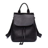 2018 New Arrival Women S Backpack Genuine Leather Ladies Bagpack Mini Size Female Shoulder Bag Teenage