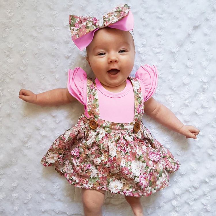 HTB1GrFzd7fb uJkHFJHq6z4vFXam - 1-4y Summer Children Clothing Floral Girl Skirt Cotton Cute Toddler Suspender Skirts for Baby Girls Clothing