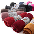 New Fashion Womens Pleated Scarf Summer Cotton Long Scarves Large Sunscreen Shawl Stole Wrap Soft Hijabs Bandana Trendy 201-081