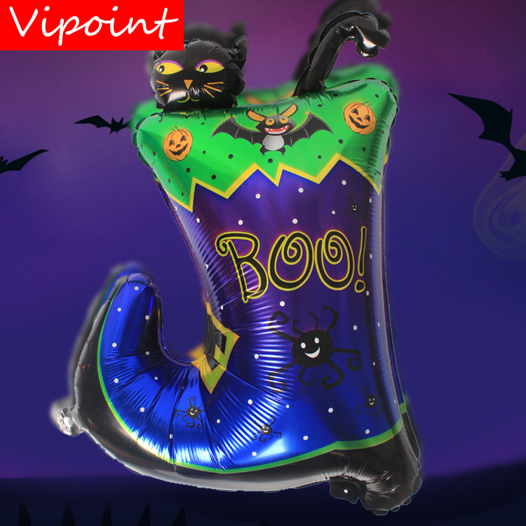 VIPOINT PARTY 65x50cm blue green purple shoes foil balloons wedding event christmas halloween festival birthday party HY 252 in Ballons Accessories from Home Garden