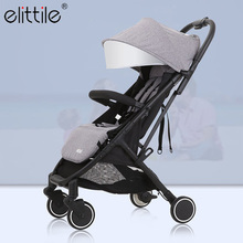 Elittile Dream Folding Baby Stroller For Travel System Plane Umbrella Baby Lightweight Strollers 2 In 1