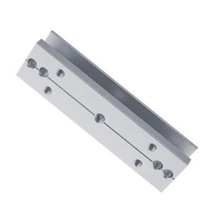 Image 2 - 180kg/280kg Magnetic lock U /L / LZ shape bracket 350lbs/600lbs frameless glass door for Access Control Security lock System