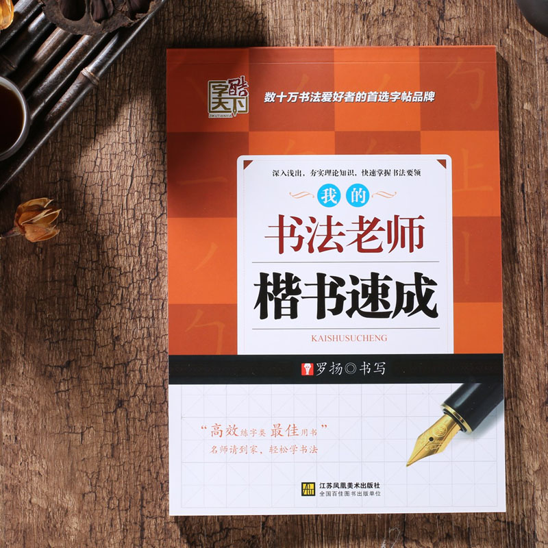 My Chinese Calligraphy Teacher Regular Script Copybook Learn Chinese Adults Kids Children Art Drawing Antistress Libros