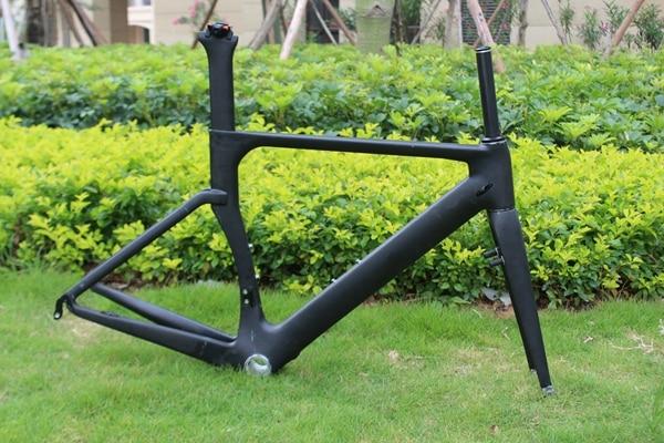 Carbon Fiber Aero Road Track Bicycle Frame Road Racing China Racing road carbon Bike Frameset on sale ican carbon aero bike frame road racing bicycle frames size 45 48 50 52 54 56 58 60cm china cheap frameset a4