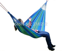 한 사람 가족 캠핑 캠프 한 사람 캔버스 야외 레저 패브릭 줄무늬 해먹|hammock hammock|fabric hammockoutdoor camping hammock -