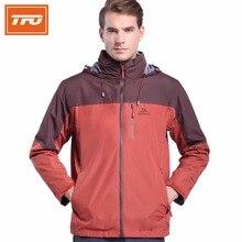 TFO Men Hiking Jacket Man Outdoor Sport Chaquetas Waterproof Fleece Coat Hiking Jaqueta Climbing Softshell Jacket 6621406