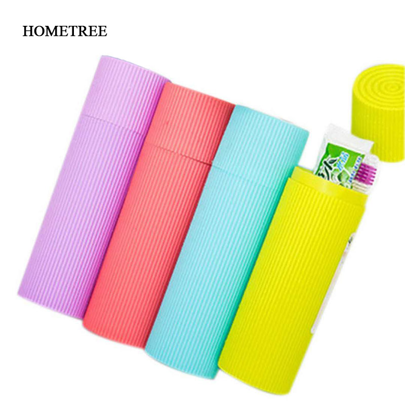 HOMETREE Portable Toothbrush Box Bath Product Protect Case Holder Camping Cover Travel Tube H803