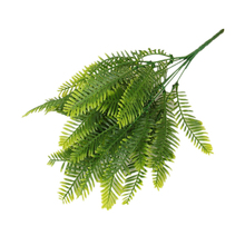 35cm Artificial Persian Fern Green Plant Fake Leaves Simulation Plastic Fern Grass Wall Hanging Plants Home Garden Decoration