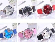 Rhinestone Watch Women 2016 Fashion Brand Luxury cartoon Patter Casual Quartz Wristwatches Ladies Dress Clock Girl