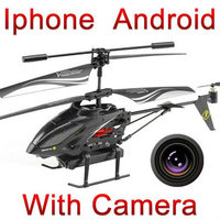 Бесплатная доставка WL Игрушки s215 3.5ch Iphone, Ipad Android-Пульт Дистанционного Управления RC Вертолет мультикоптер с Камерой i-вертолет FSWB